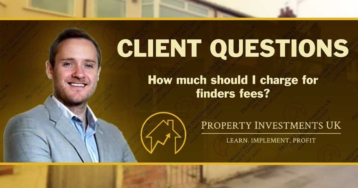 Property Sourcing What Should My Finder Fee Be