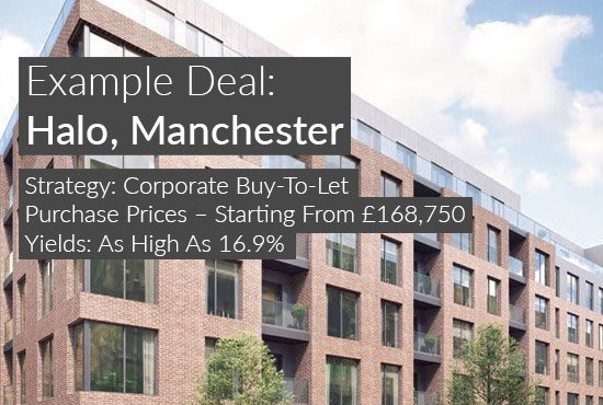 property investment example, HALO, Manchester