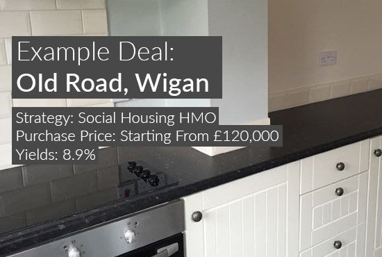 property investment example, Old Road, Wigan