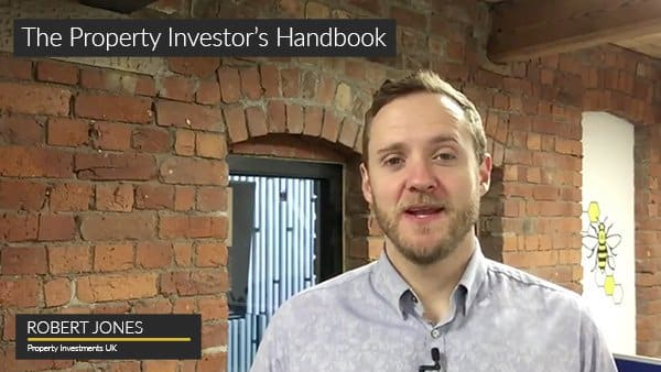 Robert Jones course creator for the Property Investor's Handbook