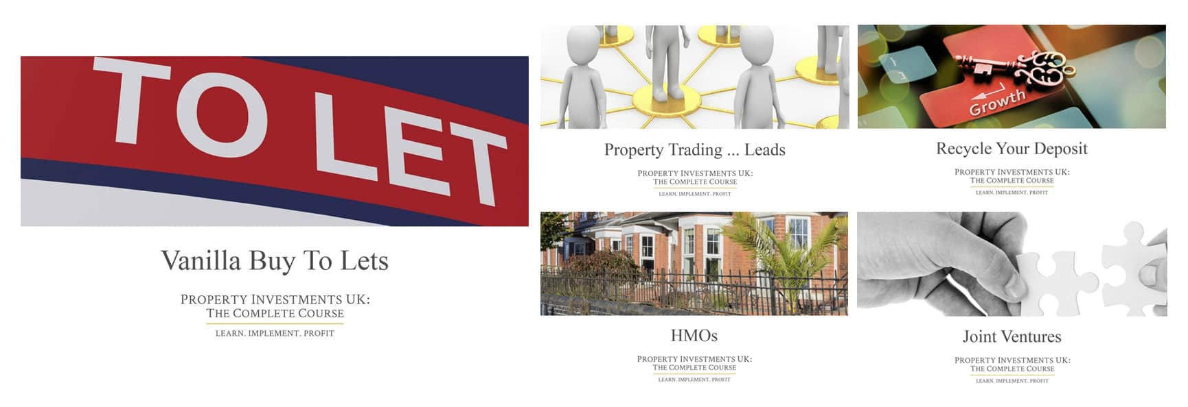 Property Investment Course - Example Modules