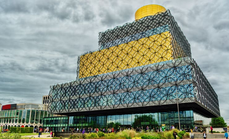 A photo of Birmingham Library