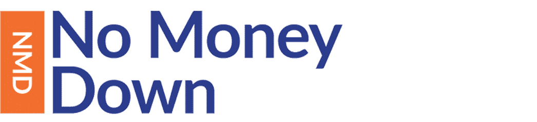 Logo for the No Money Down property investment course from Progressive Property