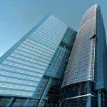 Thumbnail image. Photograph of a modern skyscraper