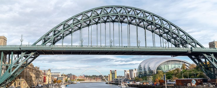 Photograph of The Tyne Bridge