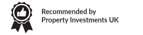 Recommended by Property Investments UK