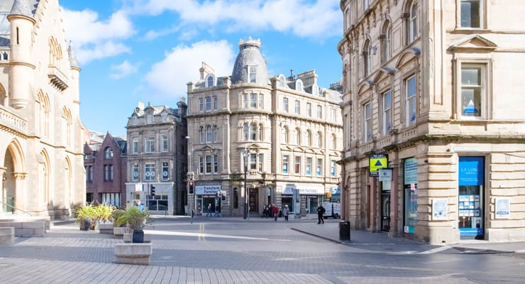 Photograph of Albert Square in Dundee