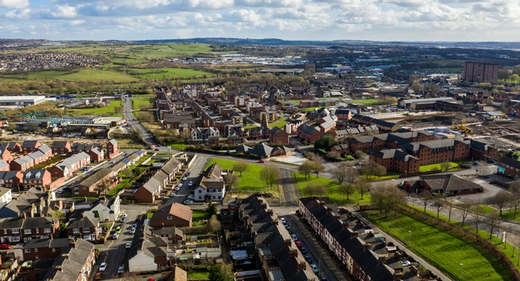Stoke-on-Trent - Aerial Photograph