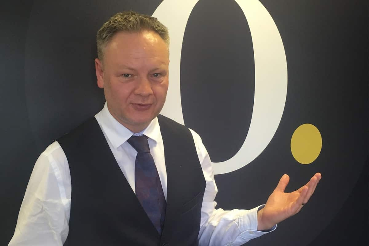 Photograph of Simon Misiewicz from Optimise Accountants