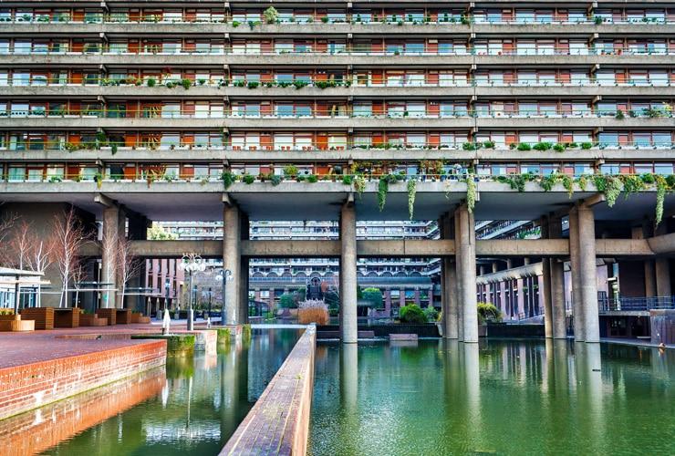 The Barbican Estate in London.