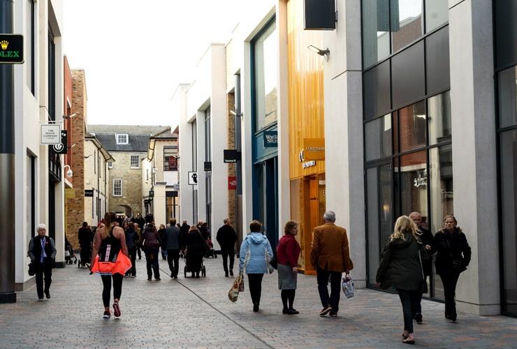 Bond street in Chelmsford.