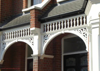 Edwardian houses porch