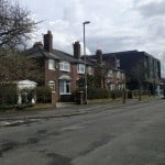 Red brick houses on a red brick council estate representing rental demand