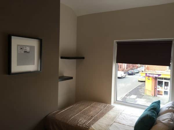 Beds in a bedroom. The furniture checklist in a refurbishment process. Property development checklist. HMOs. Refurbishment project