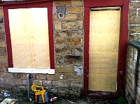 best buy to let insurance boarded up property