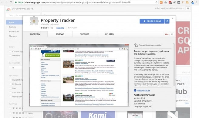 property tracker addon. Using property tracker and property bee