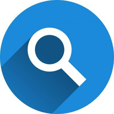 Vector Image - Magnifying Glass. Searching for the best location for an HMO