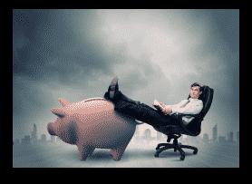 rich overseas investors sitting & waiting